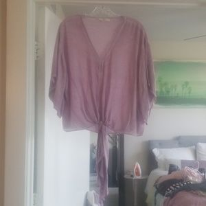 Boutique top in Lavender- size Small